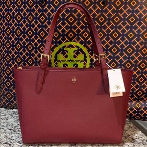 NWT Authentic Tory Burch Emerson Small Tote